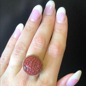 Jewelry - Red flower Ring